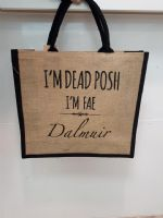 Dead Posh Large Jute Bag- Dalmuir